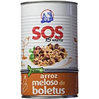 SOS Arroz Meloso Boletus 915G - [Pack De 6]