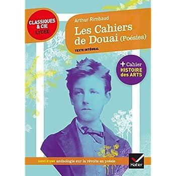 Les Cahiers de Douai (Poésies): suivi d'une anthologie sur la révolte en poésie