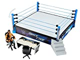 WWE Original Real Scale Smackdown Live Main Event Ring Arena mit Jinder Mahal