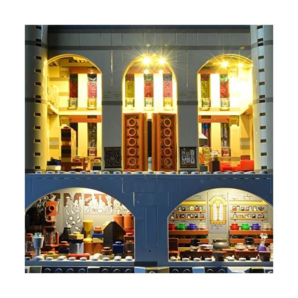 Lightailing Set di Luci per (Harry Potter Castello di Hogwarts) Modello da costruire - Kit luce led compatibile con Lego… 3 spesavip