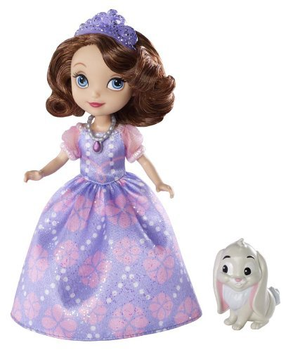 Mattel Disney Sofia The First Sofia Doll and Clover The Rabbit
