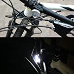 heummyo-Set-di-luci-per-Bici-Ricaricabile-Ricarica-USB-Lampada-per-Ciclismo-Faro-e-fanale-Posteriore