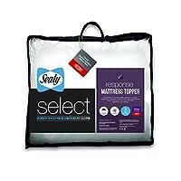Sealy Select Response Mattress Topper, White, Double-Parent