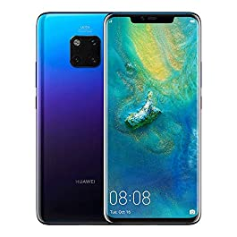 HUAWEI Mate 20 Pro 128 GB 6.39-Inch 2K FullView Android 9.0 SIM-Free Smartphone with New Leica Triple AI Camera, Single SIM, UK Version – Twilight
