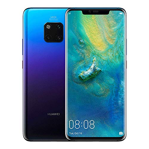 Huawei Mate20 Pro 128 GB/6 GB Single SIM Smartphone - Twilight (United Kingdom Version)