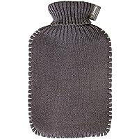 Fashy Wärmflasche mit Rollkragen-Strickbezug, grau preisvergleich bei billige-tabletten.eu