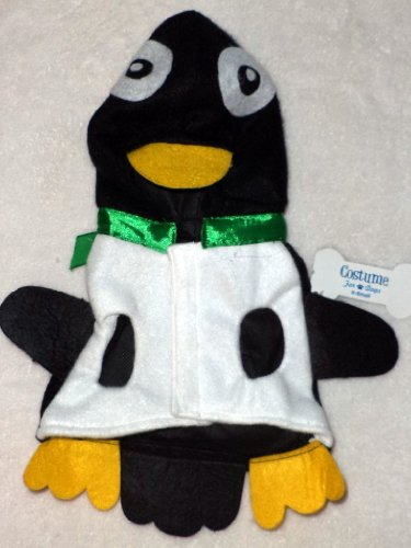 DOG PENGUIN COSTUME North Pole, Holiday Christmas Hoodie Coat Pet Puppy SMALL