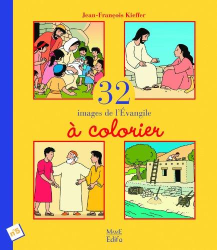 32 Images de l'Evangile à colorier : Tome 5
