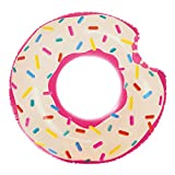 Intex-59265 Rueda Hinchable Donut Rosa, 107 x 99 cm (1)