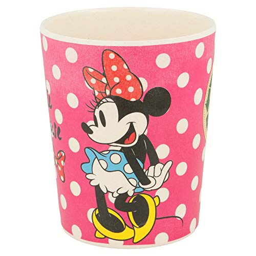 Stor Vaso Bambu 270 ML | Minnie Mouse - Disney - Glam Dots