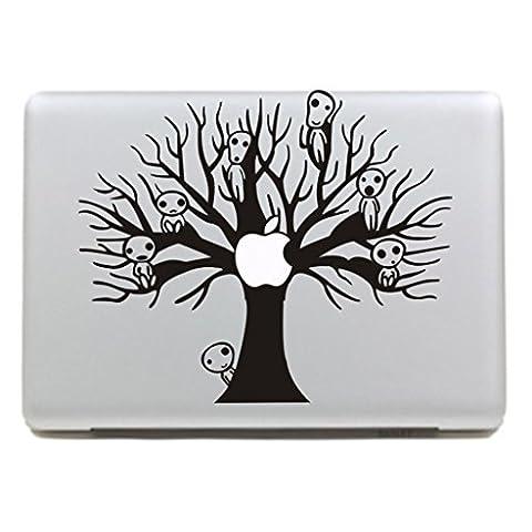 """MacBook Aufkleber, Chickwin Creative Pattern dekorativ Film Notebook Sticker Skin personalisierte Aufkleber MacBook Pro Air 13"""" Decal (Alien Baum)"""