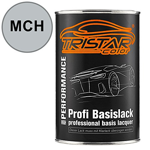 Preisvergleich Produktbild TRISTARcolor Autolack Set Dose spritzfertig Landrover MCH Astral Silver Metallic Basislack 1, 0 Liter 1000ml