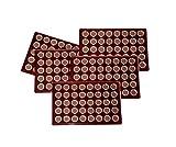 5 x Münztableau / Tableau mit 200 Kapseln mm für 2 Euro Münzen