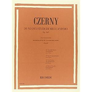 CZERNY - Op. 849 30 nuovi studi di meccanismo per pianoforte