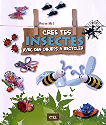 recycl'art ; coffret ; cree tes animaux avec des objets a recycler ; cree tes insectes avec des objets a recycler