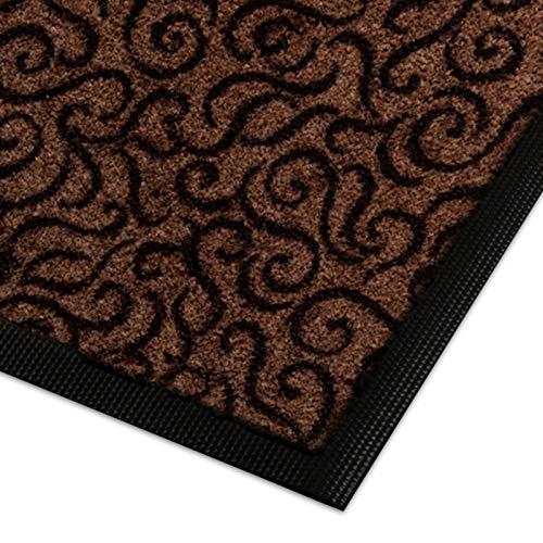 Design Schmutzfangmatte | mit Schnörkelmuster | für Eingangsbereich | Fußmatte in vielen Größen...
