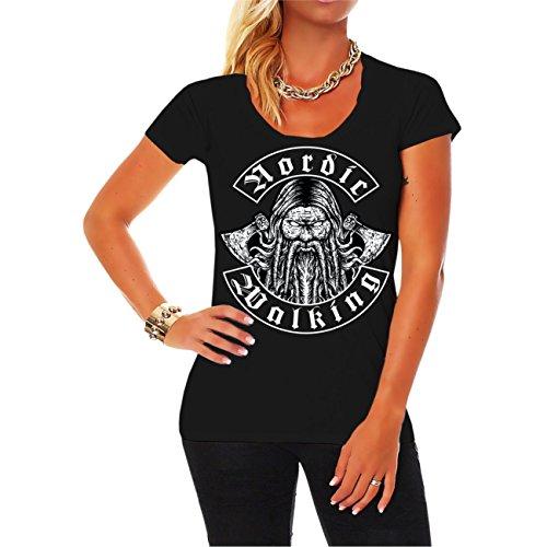 Frauen und Damen T-Shirt Nordic Walking