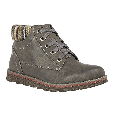 Lotus Grey Multi Meloni Lace-Up Boots 5
