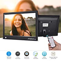 أندور 11.6 بوصة HD IPS بإطار صور رقمي رقمي رقمي ألبوم صور 1920 * 1080 دقة عالية مع ميزة كاملة للكشف عن الحركة عن بعد يدعم الموسيقى بالفيديو