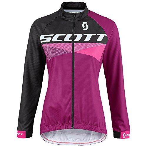 Scott RC Pro AS 10 Damen Winter Fahrrad Jacke lila/schwarz