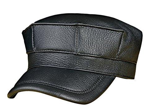 Schirmmütze Mit Ohrenschutz Winter Newsboy Barett Cap Kappe Hut Baseballmütze Schwarz XXL (Herren Sommer Newsboy Hüte Xxl)