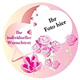 Tortenauflage Muttertag, mit Foto, Geschenkidee, Tortendeko Muttertagstorte