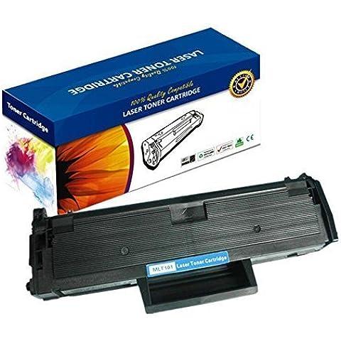 Nextpage Europe - Cartucho de tóner láser equivalente a los modelos MLT-D101S compatible con modelos Samsung ML-2160 ML-2160W ML-2165 ML-2165W ML-2168 Samsung SCX-3400F SCX-3400FW SCX-3405F SCX-3405FW y