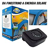 LOGICA 1240694 Parking Cool Ventilatore Solare per Auto