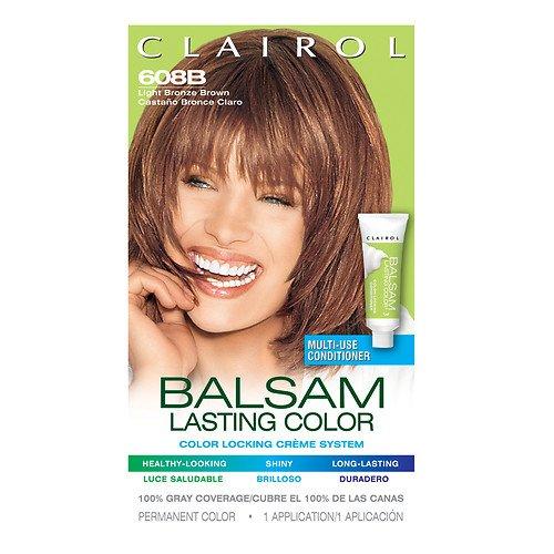 Clairol Coloration Balsam Color - Couleur 608B - Châtain bronze clair