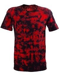 Tie Dye Festival Red Scrunch T-Shirt