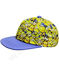 e8d832d3201 Official Licensed Boys Despicable Me Minions All Over Design Baseball Cap  Hat Age…