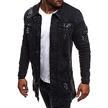 Runyue Herren Strickjacke Open Jacke Cardigan Knit Mantel Strick Jacken Sweatshirt Sweatblazer