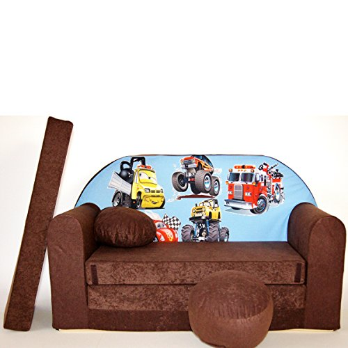Kinder 3-er Set Kindersofa + 2 sessel K14 - 2