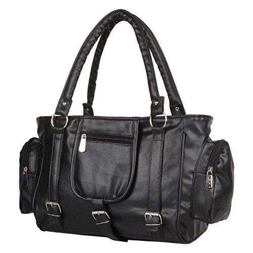 KAWTRA Fashion Stylish Handbag-BLACK