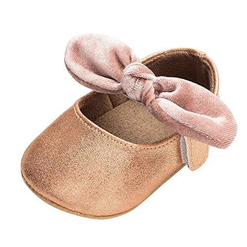 Quaan (11-13 Neugeborenes Baby Mädchen Solide Bogen Klettverschluss -