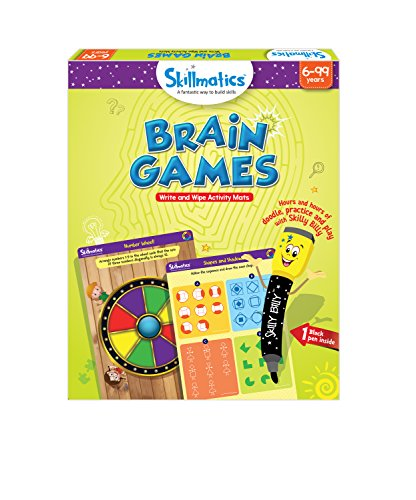 Skillmatics Educational Game: Brain Games 6-99 years