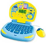 Liscianigiochi 43279 Peppa Pig Primo Computer, colore: Celeste