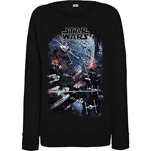 Star Wars mujer Universe Battle Camisa de entrenamiento