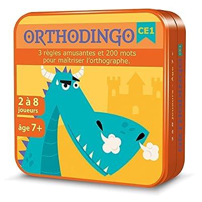 Aritma OrthoDingo - Jeux de cartes, Orthographe, 7 ans