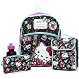 "Hello Kitty 16"" Inch Backpack School Supplies Set For Girls"