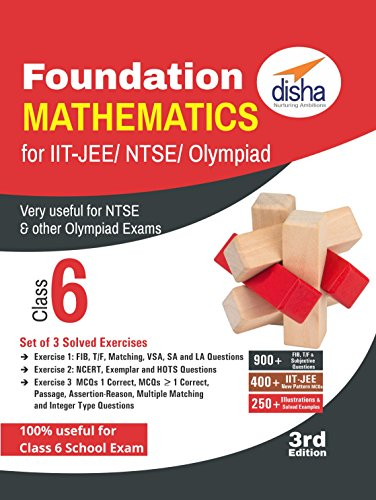Foundation Mathematics for IIT-JEE/ NTSE/ Olympiad Class 6 - 3rd Edition