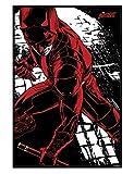 Marvel Comics glänzendes schwarz eingerahmtes Daredevil Maxi Poster 61 x 91,5 cm