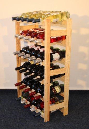 Weinregal Weinregal Holz Flaschenregal für 30 Flaschen R - 30