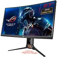 Asus ROG Swift PG27VQ 68,6 cm (27 Zoll) Monitor (WQHD, bis zu 165Hz, HDMI, DisplayPort, 1ms Reaktionszeit) titan/kupfer