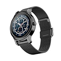 SMA-R2 Smart Watch Round Touch Screen Silicone Band Waterproof Call Reminder Step Count Sleep Heart Rate Fitness Monitoring Couple Men Women Sports Smartwatch
