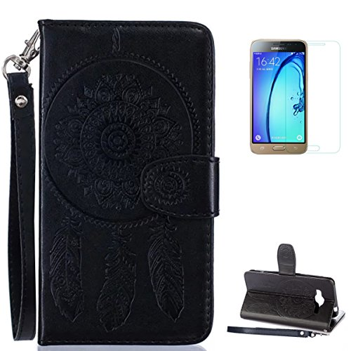 samsung-galaxy-j3-2016-2015-case-with-free-screen-protectorcasehome-mandala-dreamcatcher-feather-pat