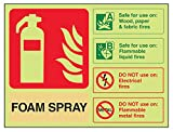 Vsafety 11015 ar-g señal de extintor