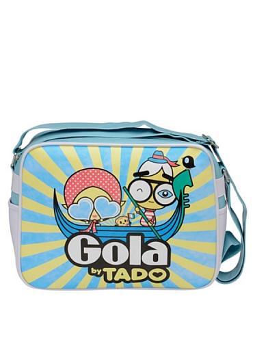 GOLA TUB357 REDFORD GONDOLA TRACOLLA Donna Azzurro/Giallo