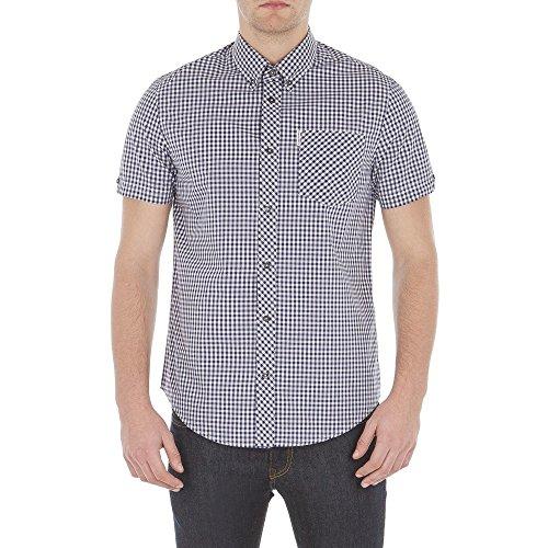 ben-sherman-chemise-ben-sherman-core-gingham-xxl-bleu