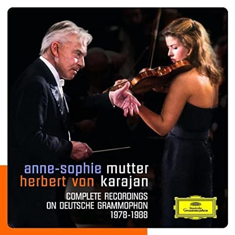 Mutter - Karajan: Complete Recordings on Deutsche Grammophon (1978-1988) Box